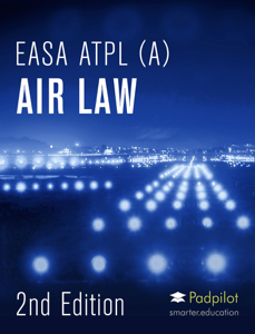 EASA ATPL Air Law 2020 Copertina del libro