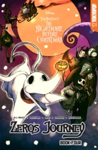 Disney Manga: Tim Burton's The Nightmare Before Christmas -- Zero's Journey Graphic Novel Book 4 (official Full-color Graphic Novel, Collects Single Chapter Comic Book Issues #15 - #00)