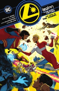 Legion of Super-Heroes Vol. 2: The Trial of the Legion Book Cover