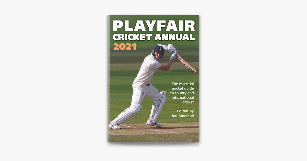 Playfair Cricket Annual 2021 on Apple Books