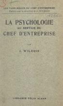 La Psychologie Au Service Du Chef D'entreprise
