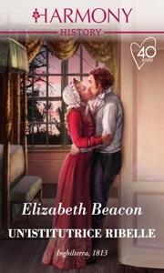 Un'istitutrice ribelle da Elizabeth Beacon Copertina del libro