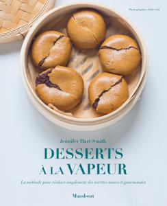 Mes desserts healthy à la vapeur Couverture de livre