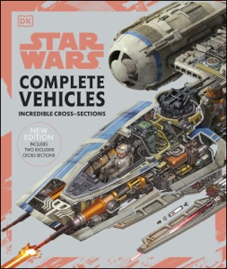 Star Wars Complete Vehicles New Edition by Pablo Hidalgo, Jason Fry, Kerrie Dougherty, Curtis Saxton, David West Reynolds & Ryder Windham Book Cover