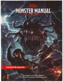 DnD 5e Monsters Manual - Dungeons & Dragons Monster Manual