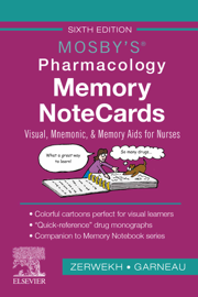 Mosby's Pharmacology Memory NoteCards - E-Book
