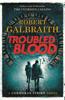 Robert Galbraith - Troubled Blood artwork