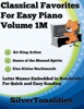 Classical Favorites For Easy Piano Volume 1 M