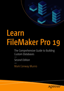 Learn FileMaker Pro 19 Copertina del libro