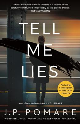 JP Pomare - Tell Me Lies book