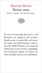 Homo sum Libro Cover