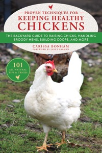 Proven Techniques for Keeping Healthy Chickens Book Cover