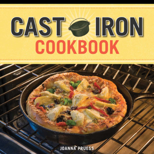 Cast Iron Cookbook Book Cover