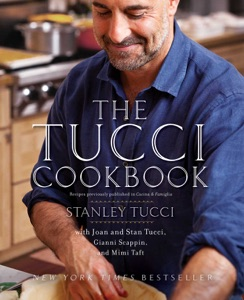 The Tucci Cookbook by Stanley Tucci Book Cover
