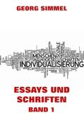 Essays und Schriften, Band 1