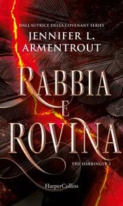 Rabbia e rovina (Harbinger Series Vol. 2) di Jennifer L. Armentrout Copertina del libro