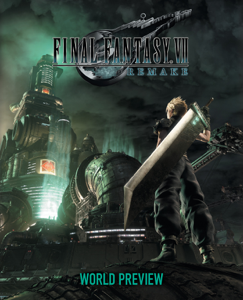 Final Fantasy VII Remake: World Preview Copertina del libro