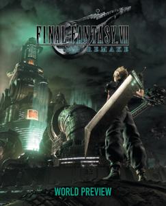 Final Fantasy VII Remake: World Preview Copertina del libro