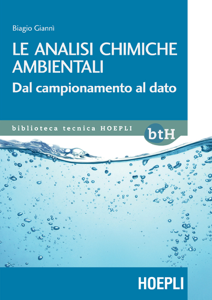 Le analisi chimiche ambientali Copertina del libro