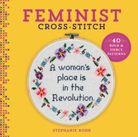 Feminist Cross-Stitch book