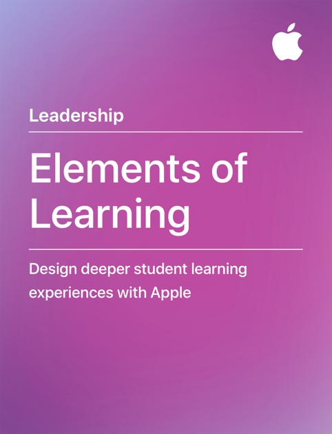 elements of learning by apple education on apple books rh itunes apple com