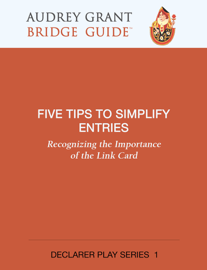 Five Tips to Simplify Entries book