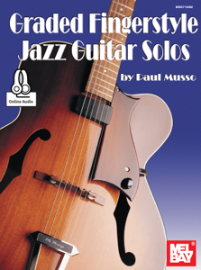 Graded Fingerstyle Jazz Guitar Solos La couverture du livre martien
