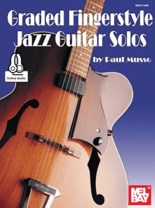 Graded Fingerstyle Jazz Guitar Solos La couverture du livre martien