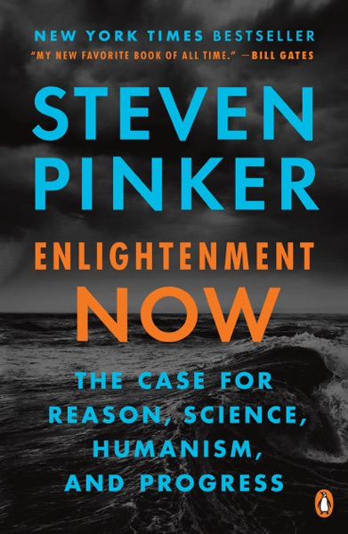 Enlightenment Now - Steven Pinker book cover