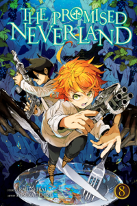 The Promised Neverland, Vol. 8 Libro Cover
