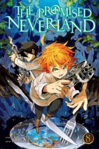 The Promised Neverland, Vol. 8 Copertina del libro