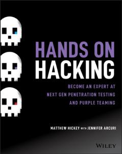 Hands on Hacking Copertina del libro