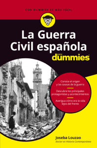 La Guerra Civil española para dummies Book Cover