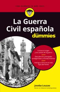 La Guerra Civil española para dummies Book Cover