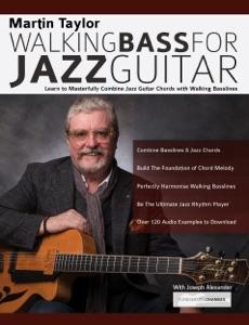Martin Taylor Walking Bass For Jazz Guitar di Martin Taylor Copertina del libro