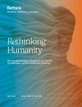 Rethinking Humanity