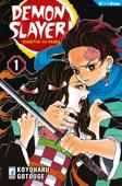 Demon Slayer - Kimetsu no yaiba 1 Book Cover