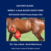 28.8 FIRST BLOOD TIPS - WEEKLY BLOOD COUNT FORM