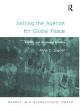 Setting the Agenda for Global Peace
