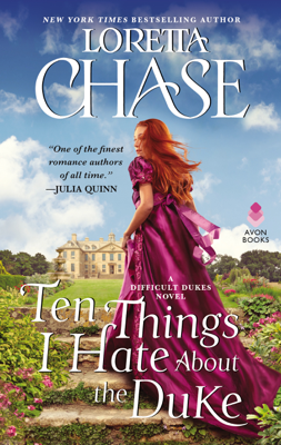 Loretta Chase - Ten Things I Hate About the Duke book