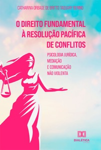 O direito fundamental à resolução pacífica de conflitos Book Cover