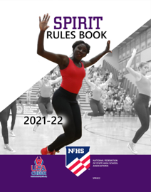 2021-22 NFHS Spirit Rules Book