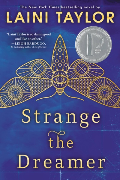 Strange the Dreamer - Laini Taylor book cover