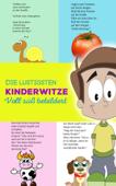 Die lustigsten Kinderwitze – voll süß bebildert Illustrierte Witze für Kinder