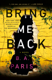 Bring Me Back book