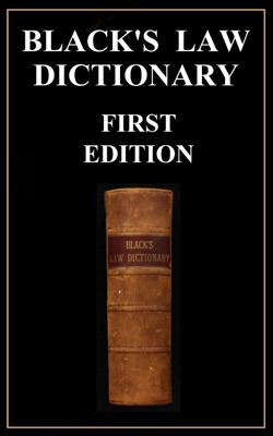 Black's Law Dictionary - First Edition (1891)