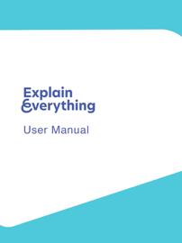 Explain Everything User Manual book