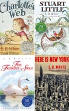 E. B. White Box Set: 4 Classic Favorites: Charlotte's Web, Stuart Little, The Trumpet Of The Swan, Here Is New York .