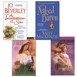 Hot Historicals Bundle with An Invitation to Sin, The Naked Baron, When His Kiss  Is Wicked, & Mastering the Marquess PDF Download