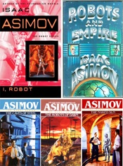 Download Robot Series Collection by Isaac Asimov: I Robot, The Caves of Steel, The Naked Sun, The Robots of Dawn, Robots and Empire.